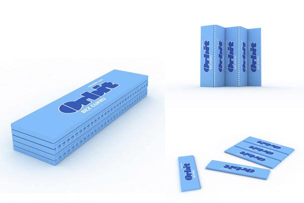 Produktový design FMK UTB - Obal na žvýkačky Orbit 03b373bf1ec